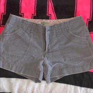 American Eagle gray shorts size 4